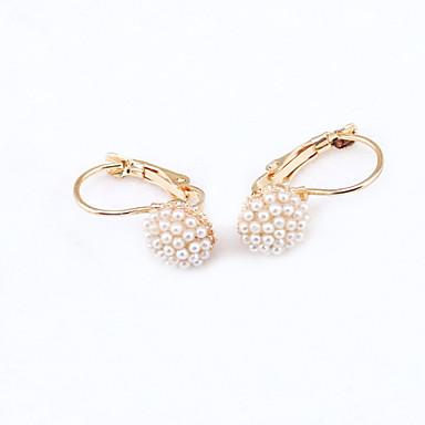 Brincos Curtos Cristal Moda Europeu Strass Chapeado Dourado 18K ouro imitação de diamante Áustria Cristal Jóias Para 2pçs
