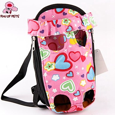 Kat Hond Dragers & Reistassen voorzijde Backpack Huisdieren manden Schattig Roze Voor huisdieren