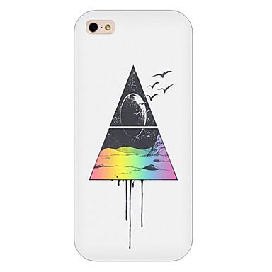 tampa traseira do caso do telefone do teste padrão do triângulo para iphone5c casos do iphone