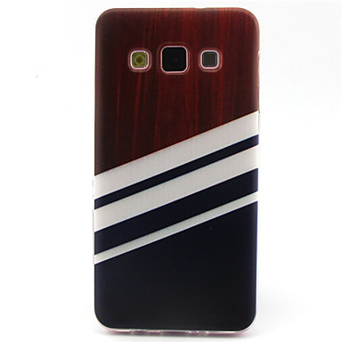 Voor Samsung Galaxy hoesje Hoesje cover Patroon Achterkantje hoesje Geometrisch patroon TPU voor Samsung A5 A3