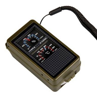 Fire Starter Survival Whistle Πυξίδες Θερμόμετρα Μεγεθυντικός φακός Κατασκήνωση Για Υπαίθρια Χρήση Πολλαπλών λειτουργιών Ναυτικό Πρώτες