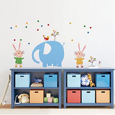 muurstickers muur stickers stijl olifant park pvc muurstickers