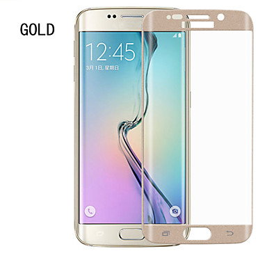 Screenprotector Samsung Galaxy voor S6 edge Gehard Glas Voorkant screenprotector Anti-vingerafdrukken