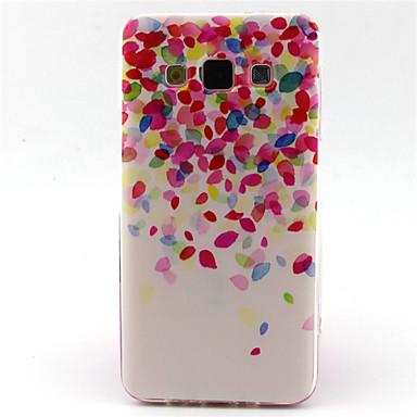 Voor Samsung Galaxy hoesje Hoesje cover Patroon Achterkantje hoesje Kleurgradatie TPU voor Samsung A5 A3