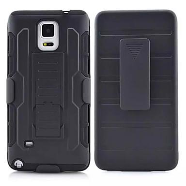 Capinha Para Samsung Galaxy Samsung Galaxy Note Antichoque Com Suporte Capa Traseira Armadura PC para Note 4 Note 3 Note 2