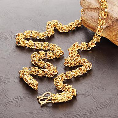 Муж. форма Ожерелья-бархатки Позолота Ожерелья-бархатки Свадьба Для вечеринок Повседневные Бижутерия
