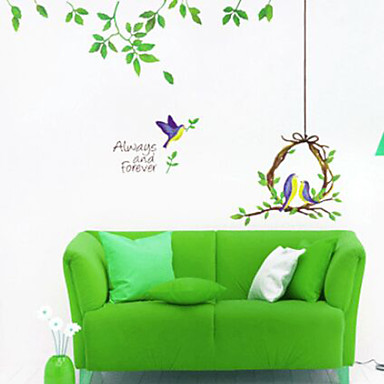 multifunctionele diy pvc pastorale stijl decoratieve stickers