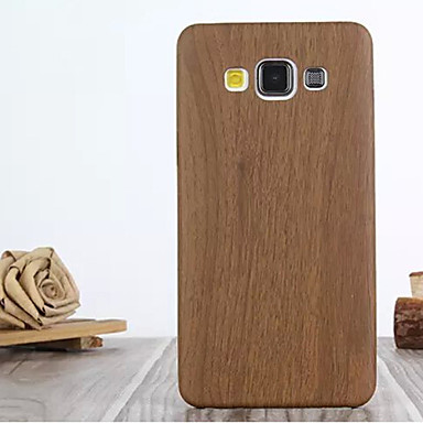 Недорогие Чехлы и кейсы для Galaxy A7-Кейс для Назначение SSamsung Galaxy A7 / A5 / A3 С узором Кейс на заднюю панель Имитация дерева Кожа PU
