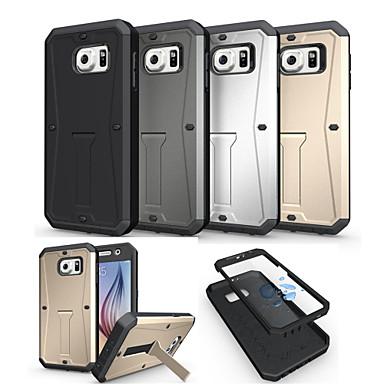 tok Για Samsung Galaxy Samsung Galaxy Θήκη Ανθεκτική σε πτώσεις με βάση στήριξης Πίσω Κάλυμμα Πανοπλία PC για S6