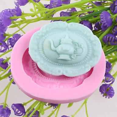 Bakvormen gereedschappen Muovi Cake Cake Moulds 1pc