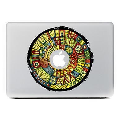flor circular 6 adesivo decorativo pele para o ar macbook / pro / Pro com tela retina