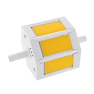 6W 450-500lm R7S LED Λάμπες Καλαμπόκι T 3 LED χάντρες COB Θερμό Λευκό / Ψυχρό Λευκό 85-265V