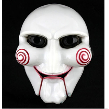 grappig volledige gezicht wit simulatie texas chainsaw halloween themafeest masker