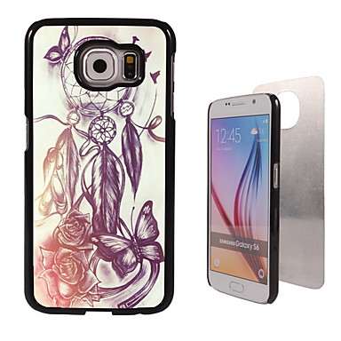 Para Samsung Galaxy Capinhas Case Tampa Estampada Capa Traseira Capinha Filtro dos Sonhos PC para Samsung S6 edge