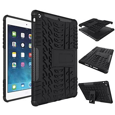 tok Για Apple iPad Mini 4 Μίνι iPad 3/2/1 iPad 4/3/2 iPad Air 2 iPad Air Ανθεκτική σε πτώσεις με βάση στήριξης Πίσω Κάλυμμα Συμπαγές Χρώμα