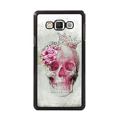 Para Samsung Galaxy Capinhas Case Tampa Estampada Capa Traseira Capinha Caveira PC para Samsung A8 A7 A5 A3