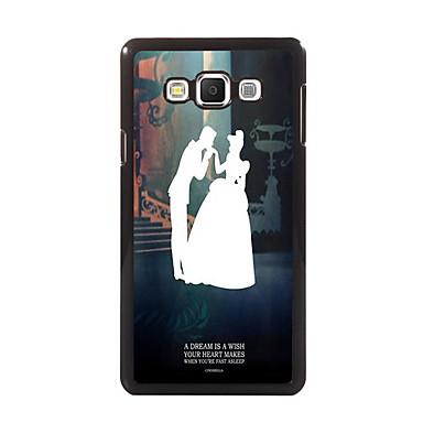 Para Samsung Galaxy Capinhas Case Tampa Estampada Capa Traseira Capinha Desenho PC para Samsung A8 A7 A5 A3