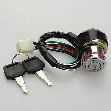 6 καλώδιο διακόπτη κλειδιού ανάφλεξης για Kazuma ATV 50cc γεράκι-125c go kart