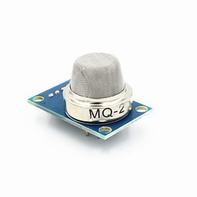 fc-22-um módulo sensor de gás combustível mq-2 para gás liquefeito de / propano - azul + prata
