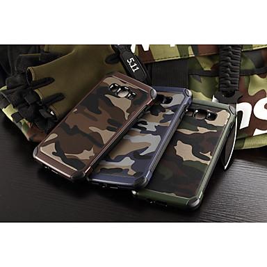Voor Samsung Galaxy hoesje Schokbestendig hoesje Achterkantje hoesje Camouflage Kleur PC Samsung A8 / A7 / A5
