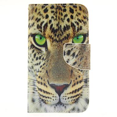 Para Samsung Galaxy Capinhas Porta-Cartão / Carteira / Com Suporte / Flip Capinha Corpo Inteiro Capinha Animal Couro PU Samsung J5