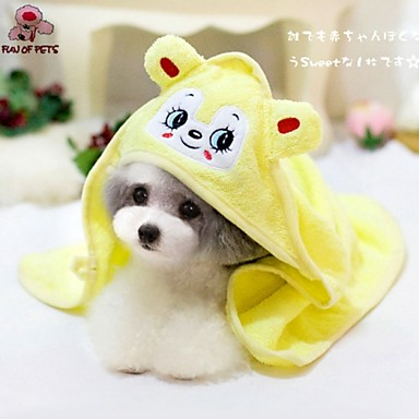Hond Handdoeken Doekjes draagbaar Cosplay Geel Groen Blauw Roze