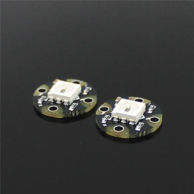 mini-rgb ws2812 levou fugas - preto (2 peças)