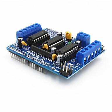 πλακέτα επέκτασης μοτέρ ασπίδα l293d ελέγχου του κινητήρα για Arduino - μπλε