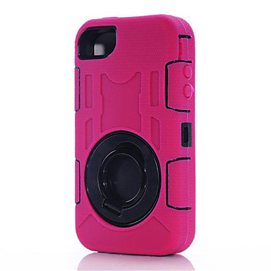 Three Anti-,Waterproof,Drop Resistance,Dustproof Phone Sets Silicone Case Protect For iPhone 4/4S