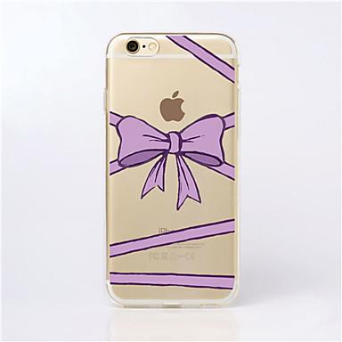 Capinha Para iPhone 5 / Apple Capinha iPhone 5 Transparente Capa traseira Desenho Animado Macia TPU para iPhone SE / 5s / iPhone 5