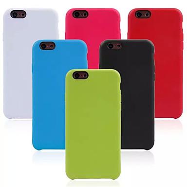Voor iPhone 6 hoesje / iPhone 6 Plus hoesje Other hoesje Achterkantje hoesje Effen kleur Zacht TPU iPhone 6s Plus/6 Plus / iPhone 6s/6