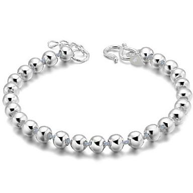 Dames Vintage Armbanden Sterling zilver Zilver Sieraden Voor Dagelijks Causaal Sport Kerstcadeaus 1 stuks