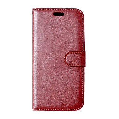 Για Θήκη HTC Θήκη καρτών / Πορτοφόλι / με βάση στήριξης / Ανοιγόμενη tok Πλήρης κάλυψη tok Μονόχρωμη Σκληρή Συνθετικό δέρμα HTC
