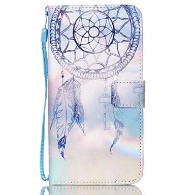 Para Samsung Galaxy Capinhas Porta-Cartão / Carteira / Com Suporte / Flip / Com Relevo Capinha Corpo Inteiro Capinha Filtro dos Sonhos