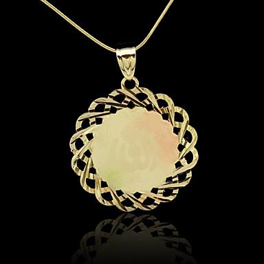 Pingentes Metal Circle Shape como Imagem 1