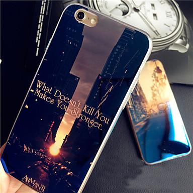 Para Capinha iPhone 6 Plus Case Tampa Capa Traseira Capinha Macia Silicone para iPhone 6s Plus iPhone 6 Plus