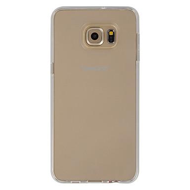 Voor Samsung Galaxy hoesje Transparant hoesje Achterkantje hoesje Effen kleur TPU Samsung S6 edge plus / S6 edge / S6
