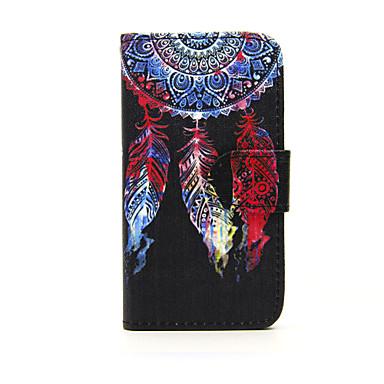 Για Θήκη Nokia Πορτοφόλι / Θήκη καρτών / με βάση στήριξης tok Πλήρης κάλυψη tok Ονειροπαγίδα Σκληρή Συνθετικό δέρμα Nokia Nokia Lumia 635