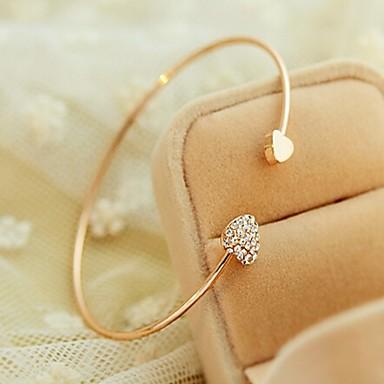 Femme Charmes pour Bracelets - Bracelet Doré Pour Mariage / Soirée / Quotidien