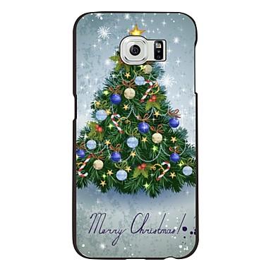 Voor Samsung Galaxy hoesje Patroon hoesje Achterkantje hoesje Kerstmis PC Samsung S6