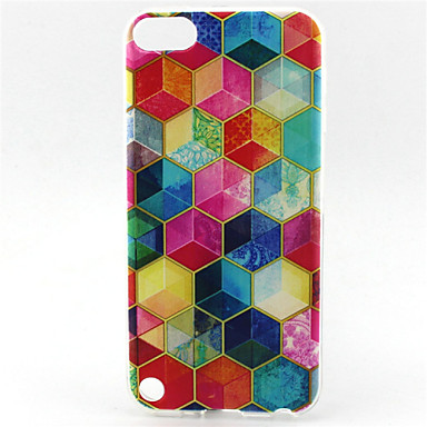 diamond painting pattern tpu soft hoesje voor ipod touch 5 ipod hoesjes / covers