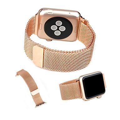 Pulseiras de Relógio para Apple Watch Series 3 / 2 / 1 Apple Tira de Pulso Pulseira Estilo Milanês Aço Inoxidável