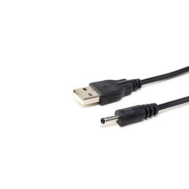 USB 2.0 αρσενικό σε 3 χιλιοστά DC καλώδιο φορτιστή αρσενικό (0.8mlength)
