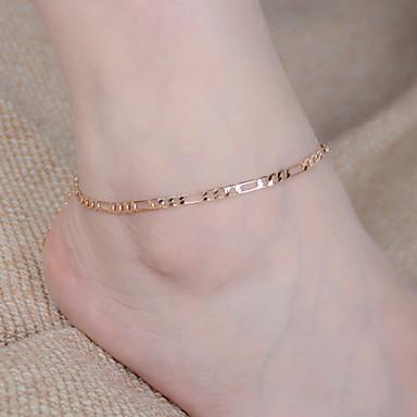 Oneindigheid Blote voeten sandalen - Dames Goud Zilver Enkelring  Voor Feest Dagelijks Causaal Sport