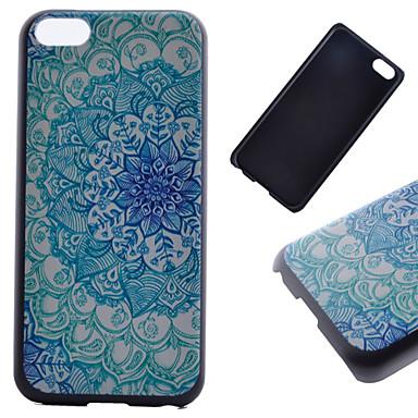 μπλε λουλούδι μοτίβο pc υπόθεση τηλέφωνο τηλέφωνο για iphone 5c iphone περιπτώσεις