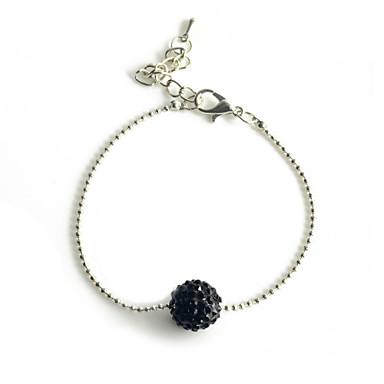Dames Strass Bedelarmbanden - Zwart Armbanden Voor Feest Dagelijks Causaal