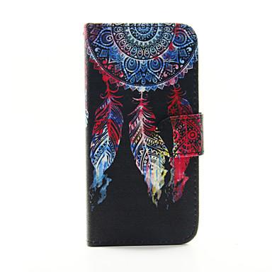 ontwerp van gekleurde tekening of patroon pu telefoon Case voor iPhone 6 plus / 6s plus