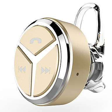 EARBUD Ασύρματη Ακουστικά Κεφαλής Πλαστική ύλη Κινητό Τηλέφωνο Ακουστικά Μίνι / Με Έλεγχος έντασης ήχου / Με Μικρόφωνο Ακουστικά