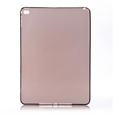 TPU silicone macio tampa transparente fina capinha para iPad mini 4 (variedade de cor)