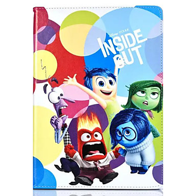 Voor Hoesje cover met standaard Patroon Volledige behuizing hoesje Cartoon PU-leer voor iPad 4/3/2